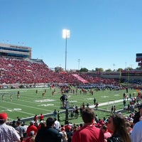 Photo taken at Jones AT&T Stadium by Paul T. on 10/13/2012