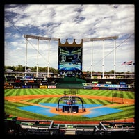 Photo taken at Kauffman Stadium by Bob N. on 6/11/2013