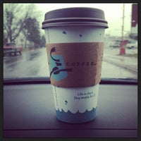 Photo taken at Caribou Coffee by Emily L. on 5/14/2013
