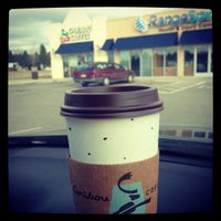 Photo taken at Caribou Coffee by Emily L. on 11/6/2013