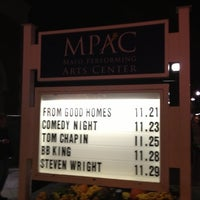 Photo taken at Mayo Performing Arts Center (MPAC) by Chris K. on 11/22/2012