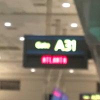 Photo taken at Gate A31 by jennifer d. on 8/25/2017