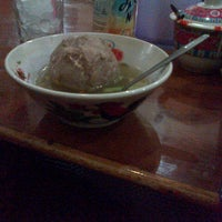 Photo taken at Bakso Wage by laila o. on 12/23/2012