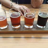 Photo taken at Corsaire Microbrasserie by Larry K. on 9/7/2015