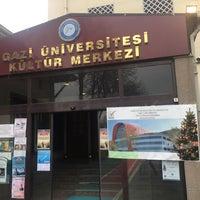 Photo taken at Gazi Üniversitesi Kültür Merkezi by Berna A. on 12/25/2016