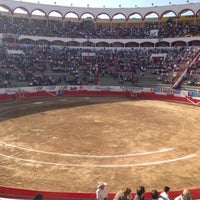 Снимок сделан в Plaza de Toros Nuevo Progreso пользователем Alfredo G. 4/27/2013