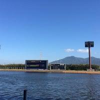 Photo taken at Boat Race Wakamatsu by saelbo 8. on 8/20/2016