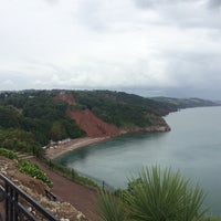 Photo taken at Babbacombe Downs by Anup T. on 7/7/2014
