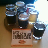 Photo taken at Worth Brewing Company by Brad A. on 5/25/2013