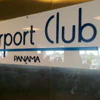 Photo taken at Airport Club Panamá by Colby D. on 3/24/2013