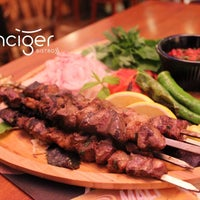 Photo taken at Canciğer Bistro by Canciğer Bistro on 10/5/2014