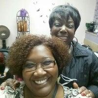 Photo taken at Salon Park Meyerland - #1 Black Hair Salon in Houston by Janell E. on 12/9/2015