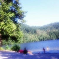 Photo taken at Alice Lake Provincial Park by M X. on 7/21/2013