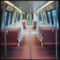 Photo taken at Vienna/Fairfax-GMU Metro Station by Mark P. on 3/6/2013
