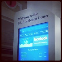 Photo taken at HUB-Robeson Center by Mark P. on 9/30/2012