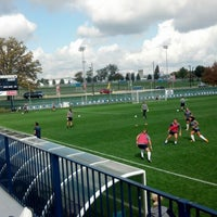 Photo taken at Jeffrey Field by Mark P. on 9/30/2012