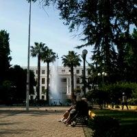 Foto tomada en Plaza Ñuñoa por Jose Eduardo B. el 11/7/2012