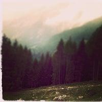 Photo taken at Malga Steinzger by Alessandro T. on 8/11/2014
