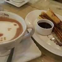 Photo taken at Churreria Spanish Chocolateria by Ayu H. on 2/13/2016