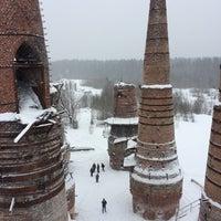 Photo taken at Заброшенный мраморно-известковый завод by Anna B. on 2/24/2017