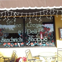 Photo taken at Lyn's Ice Cream And Deli by Jim L. on 12/31/2012