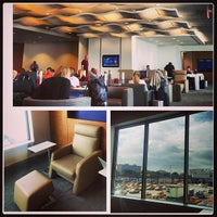 Photo taken at Delta Sky Club by Brian K. on 8/29/2013
