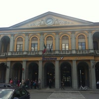 Photo taken at Stazione Lucca by Simonetta D. on 10/13/2012