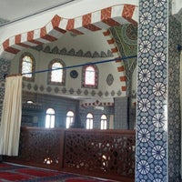 Photo taken at Hz. Ebubekir Camii by Volkan G. on 7/22/2016