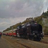 Photo taken at Železniční stanice Lužná u Rakovníka by Honza P. on 10/14/2012