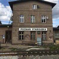 Photo taken at Poznań Starołęka by Honza P. on 8/14/2016