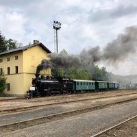 Photo taken at Železniční stanice Lužná u Rakovníka by Honza P. on 9/15/2018