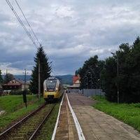 Photo taken at Rabka Zdrój by Honza P. on 8/22/2014