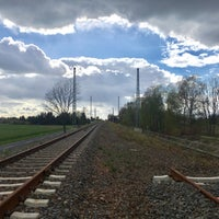Photo taken at Bahnhof Horka by Honza P. on 4/22/2017