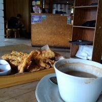 Photo taken at Kongkow Cafe by Halo R. on 11/24/2014