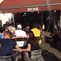 Photo taken at Hot Dog by Marcel E. on 7/4/2014