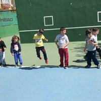 Photo taken at Tenis Kortları by Sevcan Y. on 4/14/2017
