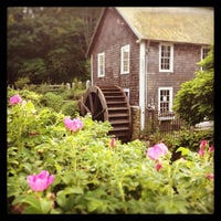 Photo taken at Stony Brook Gristmill & Museum by Amy R. on 7/23/2013
