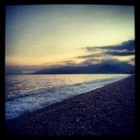 2/5/2013 tarihinde Seckin U.ziyaretçi tarafından Konyaaltı Plajı'de çekilen fotoğraf