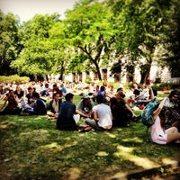Photo taken at Bloomsbury Square by 苫米地 由. on 7/10/2013