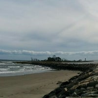Photo taken at Seaside Park Lighthouse by David C. on 9/24/2014