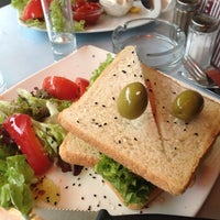 Photo taken at Naschmarkt Deli by Liana S. on 10/24/2012