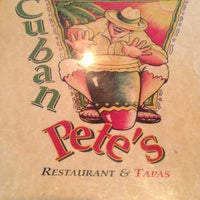 Photo taken at Cuban Pete's by Jess R. on 3/11/2013