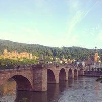 Photo taken at Alte Brücke by Thomas P. on 6/12/2013
