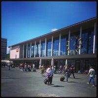 Photo taken at Würzburg Hauptbahnhof by Thomas P. on 6/23/2013