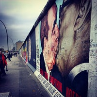 Photo taken at East Side Gallery by Thomas P. on 11/22/2012
