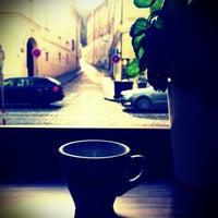 Photo taken at Cafe Vescovi by Pavel S. on 4/28/2013