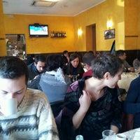 Photo taken at Pizzeria Da Sabrina by Yigit A. on 12/8/2012