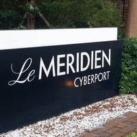 Photo taken at Le Méridien Cyberport by Takashi Y. on 7/21/2013