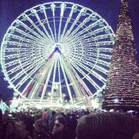 Photo taken at Grand'Place – Place du Général de Gaulle by Wissem R. on 12/15/2012