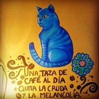 Photo taken at Mória Café by Luiggina Y. on 6/30/2015